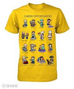 Minecraft Career Opportunities Big Boys Youth T-Shirt - Yellow @ minecraftie.com #Minecraft #minecraftpc #minecrafter #minecrafters #minecraftskin #minecraftgirl #minecraftforever  #minecrafthouse #minecraftcity #minecraftpocketedition #minecraftisawesome