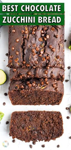 6 reviews · 15 minutes · Vegan Gluten free Paleo · Serves 4 · Double Chocolate Zucchini Bread recipe is out of this world! Grated zucchini, cocoa powder, and chocolate chips are mixed with a few ingredients to make the best gluten-free loaf. This recipe is… Gluten Free Zucchini Bread, Chocolate Zucchini Bread, Zucchini Bread Recipes, Best Chocolate, Chocolate Chips, Peach Overnight Oats, Low Carb Carrot Cake, Healthy Spring Recipes, Spring Soups