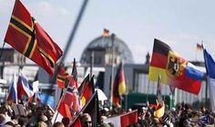 المئات يتظاهرون احتجاجاً على مسيرة لحزب يميني متطرف في ألمانيا