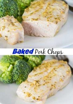 Oven Baked Pork Chop