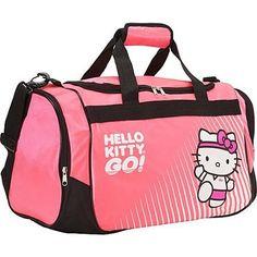 "6.75/"" Sanrio Hello Kitty X Little Twin Stars PVC Round Handbag Dia Pink"