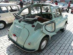 Retro Cars, Vintage Cars, Kei Car, Microcar, Subaru Cars, Cabriolet, Transporter, Cute Cars, Japanese Cars