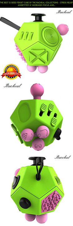 The Best 12 Sided Fidget Cube by The Racheal Collections - Stress Relief AnxietyToy – Increases Focus and Attention for Adults and Children with ADHD, ADD, OCD, Autism. #fpv #plans #technology #parts #products #tech #camera #display #rack #gadgets #shopping #racing #spinner #kit #drone