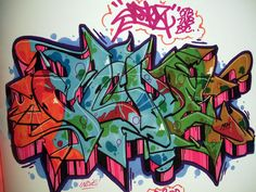 cope graffiti sketch by atik-rgt, via Flickr