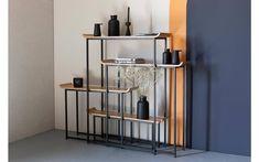 Deze stijlvolle wandmeubel van het merk Zuiver is ideaal voor in de woonkamer om jouw spulletjes op te stallen. Het stevige zwarte frame wordt gecombineerd met stijlvolle bamboe fineer platen wat zorgt voor een strakke look. Cosy Sofa, Plywood Shelves, Veneer Plywood, Sit Back And Relax, Cabinet Furniture, Simple Pleasures, Wow Products, Interior Inspiration, Natural Wood