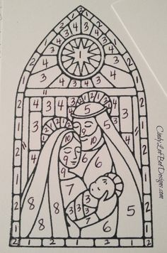 SU Gentle Peace Blend by Numbers Chrismas Cards, Religious Christmas Cards, Xmas Cards, Christmas Art, Christmas 2016, Christmas Nativity, Christmas Projects, Holiday Cards, Christmas Ideas