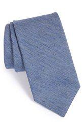 John W. Nordstrom® 'Drake' Solid Tie (X-Long)