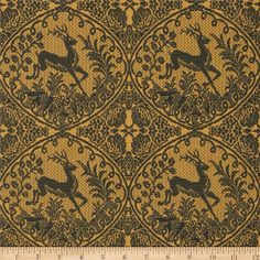 Designed by Anna Maria Horner for Free Spirit, this fabric is perfect for quilting, apparel and home décor accents.  Colors include evergreen and mustard.