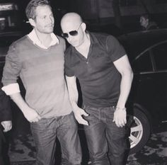 Paul Walker and Vin Diesel - Wasted, just a little??? :-)