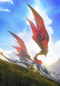 Monster Hunter Series, Monster Hunter Art, Monster Art, Mythical Creatures Art, Weird Creatures, Fantasy Creatures, Monster Concept Art, Fantasy Monster, Creature Concept Art
