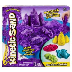 Kinetic Sand Sandbox & Molds (Colors May Vary) : Target