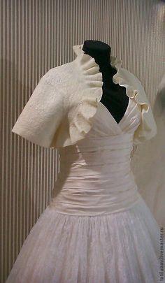 85fd0e7e3ef Купить Жакет Болеро Свадебное Ivory. - белый