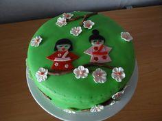 Chinese meisjes taart