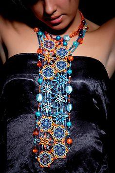 Amazing beadwork by Tamuna Lezhava | Beads Magic