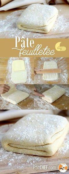 #ptitchef #recette #cuisine #pate #faitmaison #dessert #recipe #cooking #food #homemade #puffpastry #imadeit #diy