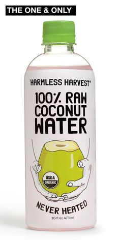 Harmless Harvest 100% Raw Coconut Water won't be diluted when poured over True Clear Ice. | Harmless Harvest