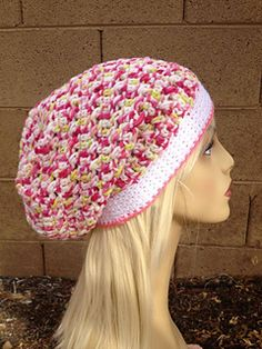 Holland's Slouch Hat - free crochet pattern by Brooke Olson.