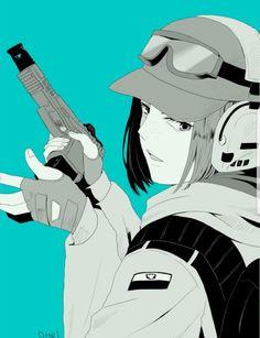 Rainbow Six Siege Anime, Rainbow Six Siege Memes, Rainbow 6 Seige, Tom Clancy's Rainbow Six, Rainbow Art, Ela Bosak, R6 Wallpaper, Fanart, Call Art