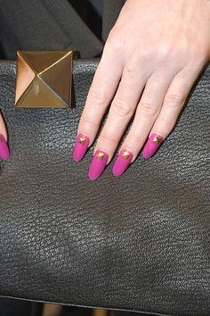 Kate Spade nails by Deborah Lippmann #NYFW