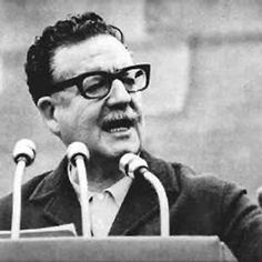 Evidence of the far-Right views of the young Salvador Allende, the socialist president of Chile between 1971 and emerged while a historian, Victor Farias, was researching a book on the Nazis in Latin America. Mr Farias had written in a 2002 book,. Victor Jara, Mundo Cruel, I Am The Messenger, Ernesto Che Guevara, Paperback Writer, Political Ideology, Black And White Portraits, Salvador Dali, Special People