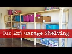 Ana White | Easy, Economical Garage Shelving from 2x4s - DIY Projects