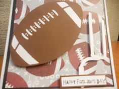 Card made using Sports stack by me and MY Big Ideas stack and Sports mania Cricut Cartridge
