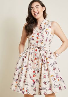 4f7affc1125 You exude farm to table charm in this fabulous pocketed shirt dress - part  of our. ModCloth