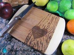Personalized Bar Board Personalized Bamboo by BlueFireEngraving