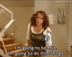 "Yes, you struggle a little with your weight… | 19 Signs You Might Be Edina Monsoon From ""Absolutely Fabulous"""