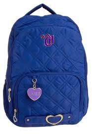 mochila azul da capricho