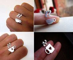 Gyűrű kávérajongóknak | Coffee ring