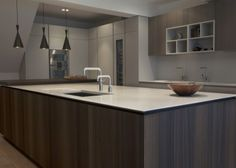 Contemporary Kitchen With Modular Work Island EL By Elmar - Contemporary kitchen with modular work island el_01 by elmar