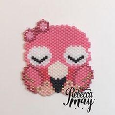 Un ptit Flamant Rose #lesflamantsmiyuki suite au défi @coeur__citron #faitmain #miyuki #flamingo #perleaddict #jenfiledesperlesetjassume #miyuki #handmade #rose #pink #perle #pinkflamingo #tissage #brickstitch #perlezmoidamour #flamantrose #tissageperles