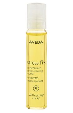 Aveda stress-fix™ Concentrate Stress-Relieving Aroma | Nordstrom $22 Acts as both a stress reliever and a perfume.  Easy rollerball applicator
