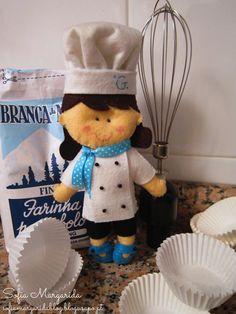 Cozinheira feltro http://sofiamargaridablog.blogs.sapo.pt/