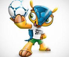 La Mascota del Mundial de Brasil 2014.