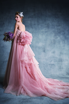 FOUR SIS & CO. Pink Dress, Ball Gowns, Formal Dresses, Beauty, Fashion, Pink Sundress, Ballroom Gowns, Dresses For Formal, Moda