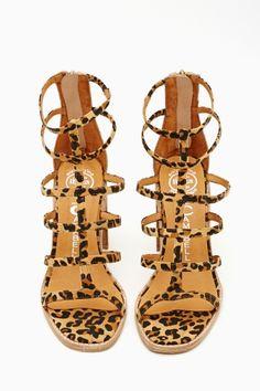 Encase Gladiator Sandal by #JeffreyCampbell