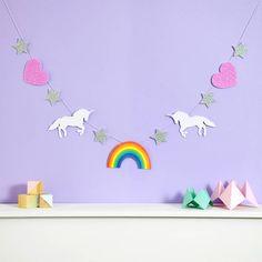 Sass /& Belle Rainbow Unicorn Sac à dos