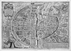 Mideval Paris: city as architectural form Paris Map, Paris City, City Photo, Medieval, Urban, History, Architecture, Cities, Arquitetura