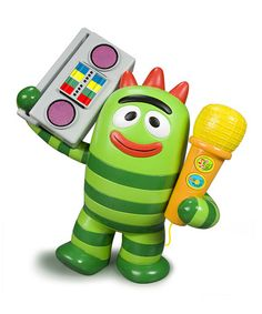 Take a look at this Yo Gabba Gabba Brobee Speaker by Blue Box Toys on #zulily today!