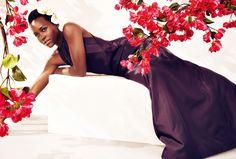 Lupita Nyong'o by Alexi Lubomirski for Harper's Bazaar UK May 2015 #fashion #photography #lupitanyongo