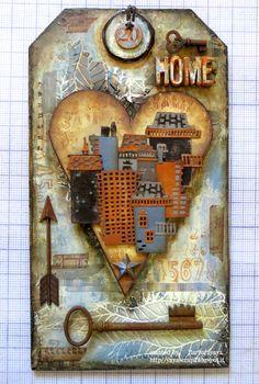 yaya scrap & more: SIMON MONDAY CHALLENGE HOME SWEET HOME