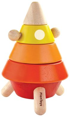 PlanToys Cone Sorting Rocket