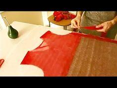 Валяние из шерсти ✿ Платье для девочки ✿ МК Лены Баймут - YouTube