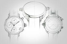 wrist watch doodles & renders on Behance #id #industrial #design #product #sketch