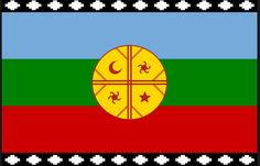 Mapuche's flag I live in chile, south america. in my country we have more than… Tinta Tattoo, Peru, Aztec Culture, Cool Countries, African Crafts, My Heritage, Special Tattoos, Good People, Necklaces