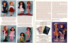 "Part two of article in ""Doll Digest' magazine July 1997"