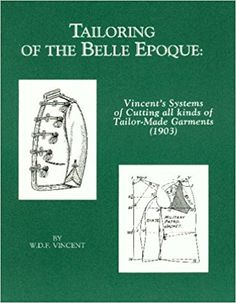 Vincent's book. Systems of Cutting All Kinds of Tailor-Made Garments. Chapter on church clothing. Available on Amazon.com