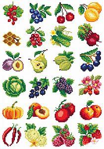 Cross Stitch Sampler Patterns, 123 Cross Stitch, Cross Stitch Fruit, Cross Stitch Kitchen, Beaded Cross Stitch, Crochet Cross, Cross Stitch Flowers, Cross Stitch Designs, Cross Stitch Embroidery